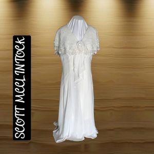 Scott McClintock ~ White Formal Wear Long Dress